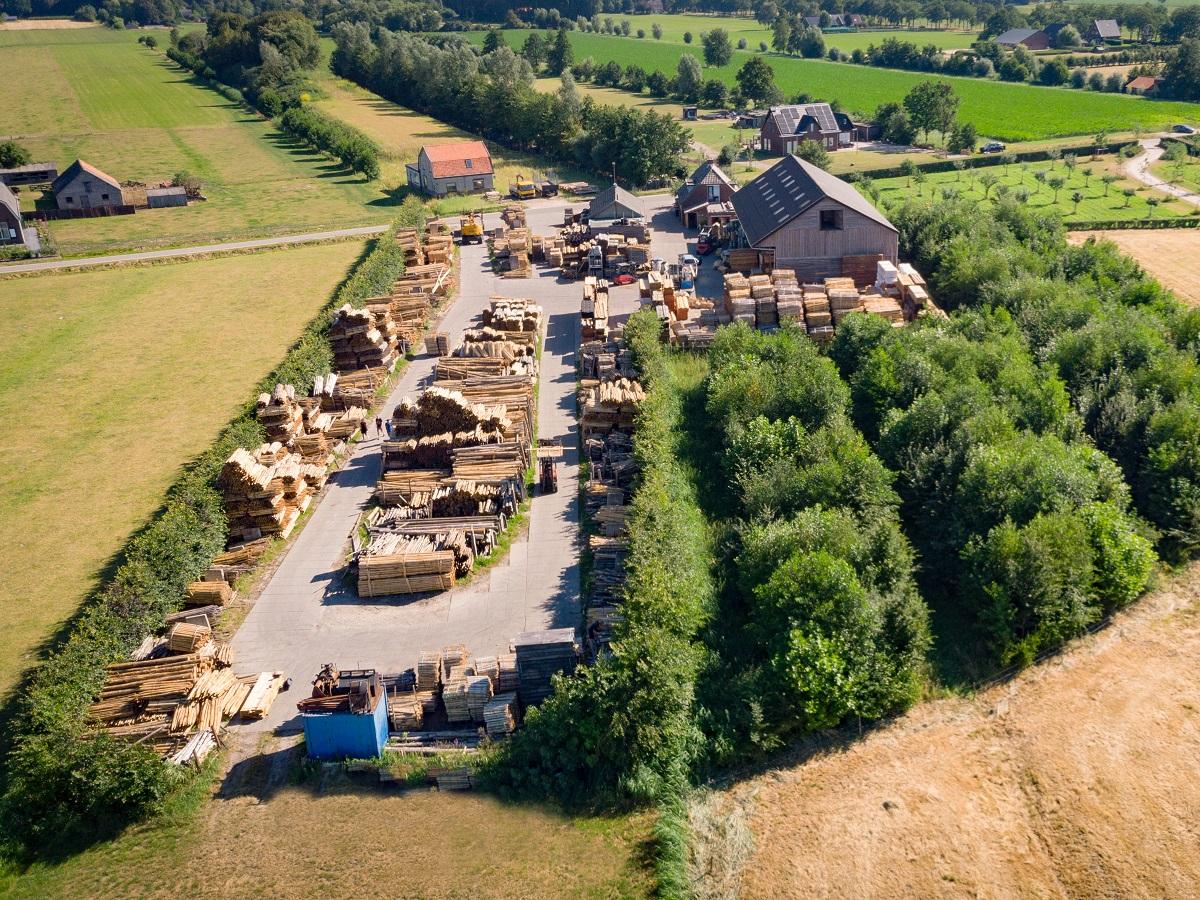 duurzaam hout en verantwoord bosbeheer   van vliet kastanjehout