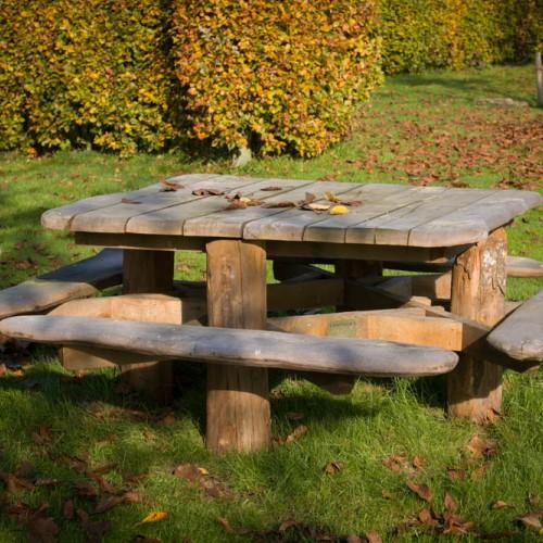 Picknick Tafel Stevig.Picknicktafels Van Vliet Kastanjehout